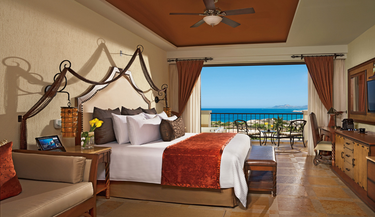 Showing slide 1 of 2 in image gallery showcasing Preferred Club Junior Suite Ocean View