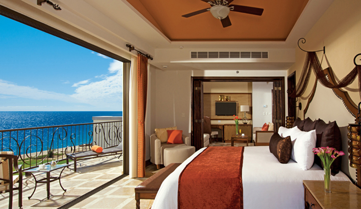 Showing slide 1 of 2 in image gallery showcasing Master Suite Ocean Front