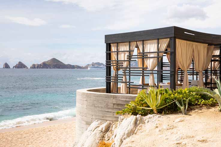 Beachfront Spa Cabana