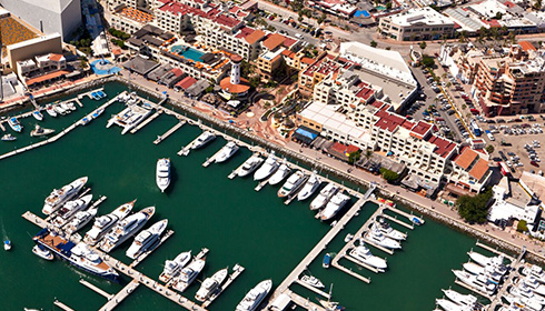 Showing slide 4 of 23 in image gallery, Marina Aerial View