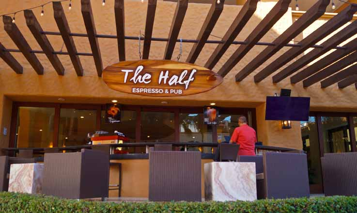 The Half Espresso & Bar