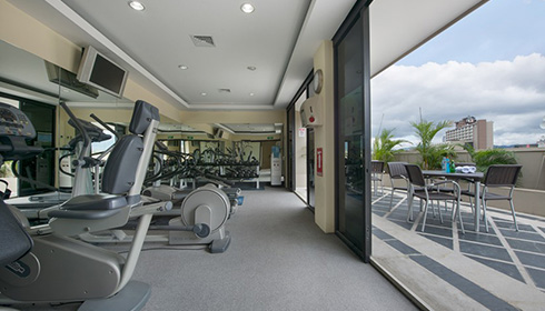 Fitness Area Balcony