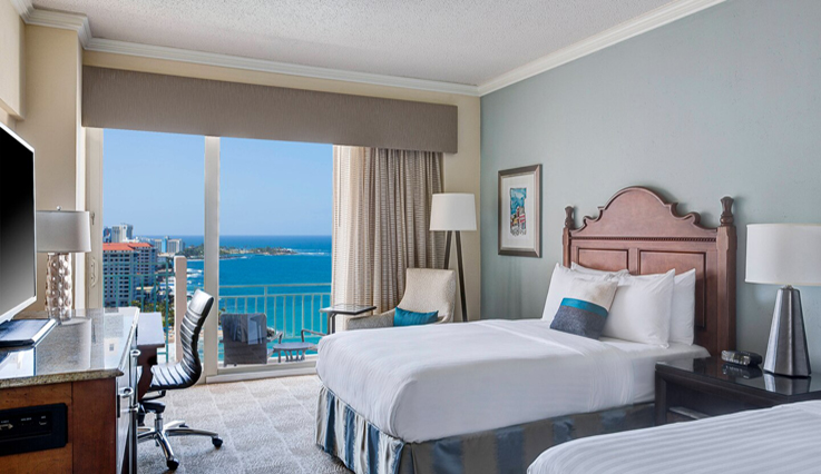 Image showcasing Ocean View Room