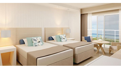 Showing slide 2 of 2 in image gallery, Deluxe Ocean View artist rendering