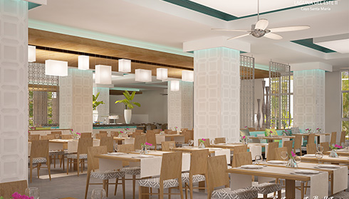 Chefs International cuisine artist rendering