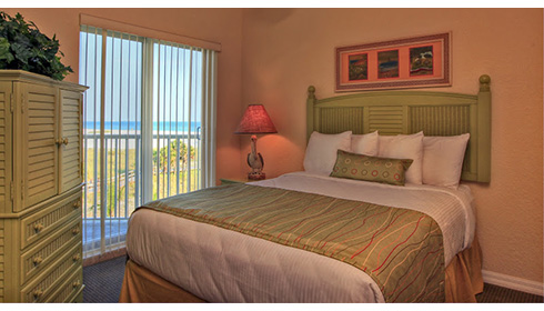 Showing slide 3 of 3 in image gallery showcasing 2 Bedroom Gulf View Suite