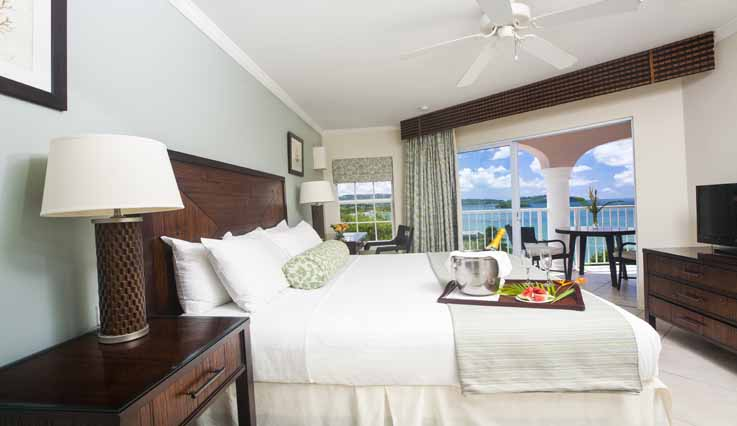 Image showcasing 1 Bedroom Ocean View Suite