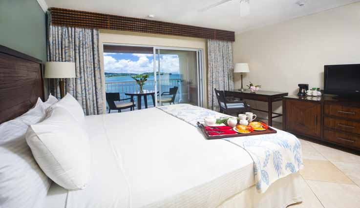 Image showcasing Deluxe Oceanview Room