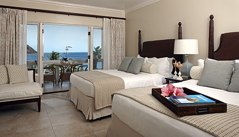 Luxury Oceanview Room