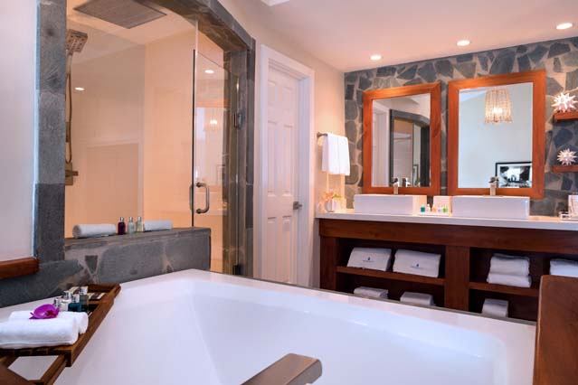 Showing slide 2 of 2 in image gallery showcasing Plunge Pool Butler Suite