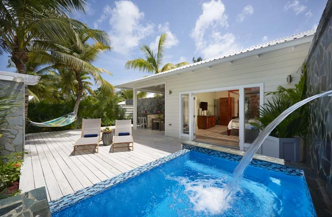 Showing slide 2 of 2 in image gallery showcasing Premium  Plunge Pool Butler Suite