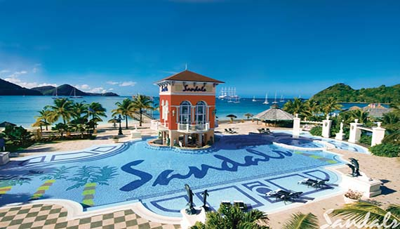 Showing Sandals Grande St Lucian Spa And Beach Resort Feature Image