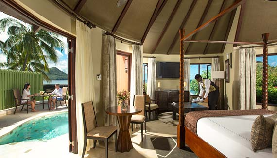 Image showcasing Grande Rondoval Butler Suite with Private Pool Sanctuary (RP)