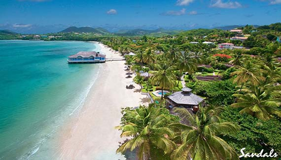 Showing Sandals Halcyon Beach St Lucia Feature Image