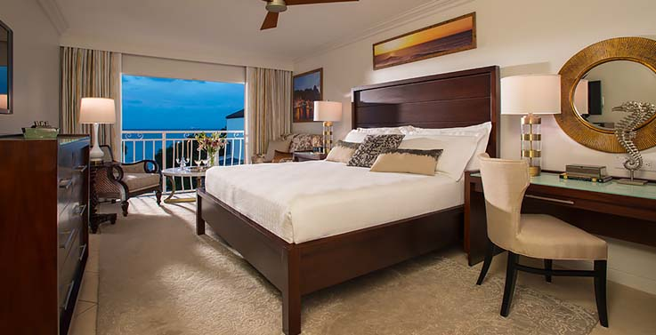 Image showcasing Honeymoon Luxury Oceanview Room Club Level (LO)