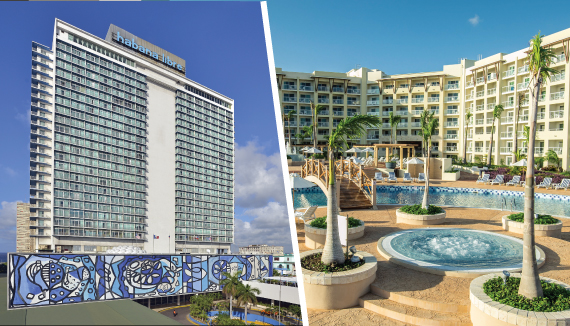 Showing slide 1 of 11 in image gallery showcasing Tryp Havana Libre and Meliá Marina Varadero Combo