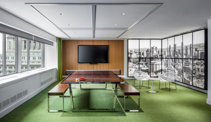 Ping meeting room