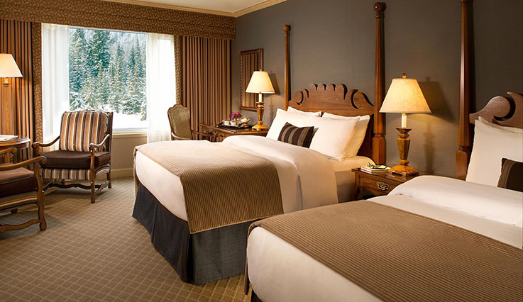 Showing slide 2 of 2 in image gallery, Fairmont Room - 2 queen beds
