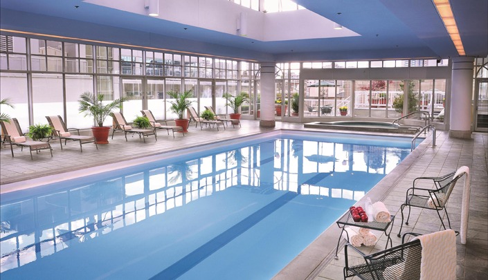 The fairmont hotel vancouver westjet for City of vancouver swimming pools