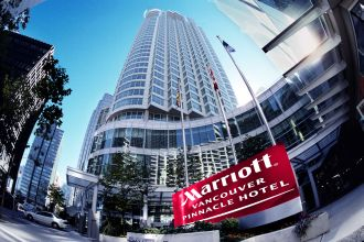 Showing Vancouver Marriott Pinnacle Downtown feature image
