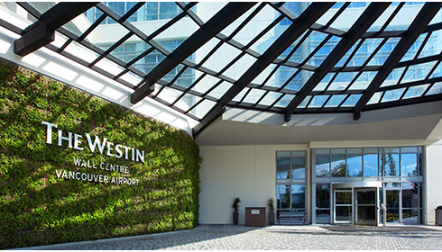 Showing slide 4 of 8 in image gallery for Westin Wall Centre Vancouver Airport