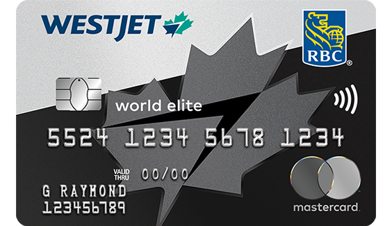 Save on travel with the WestJet RBC® World Elite Mastercard‡