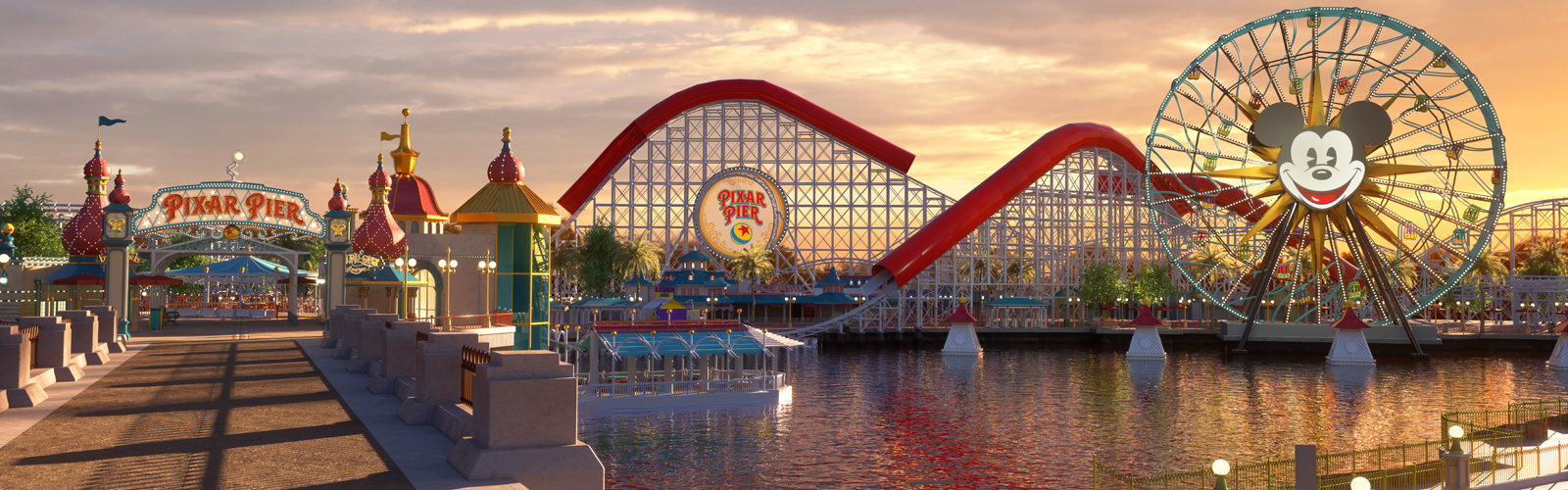 Disney's California Adventure Park - Pixar Pier