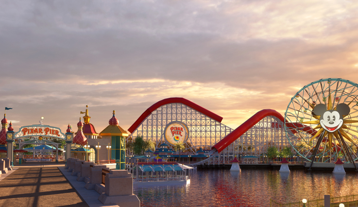 Disney's California Adverture Park - Pixar Pier