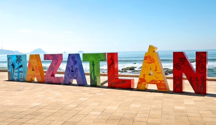 Mazatlán destination sign