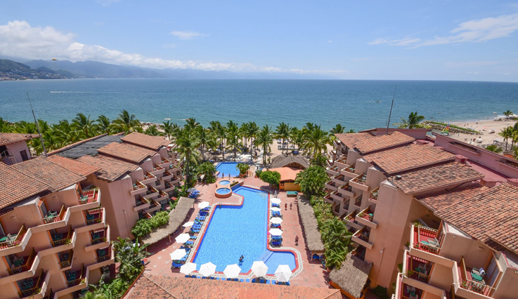 Friendly Vallarta aerial view