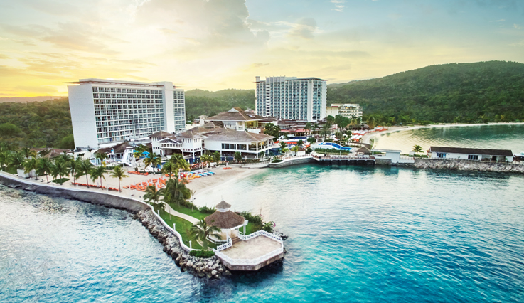 Aerial view of Moon Palace Jamaica