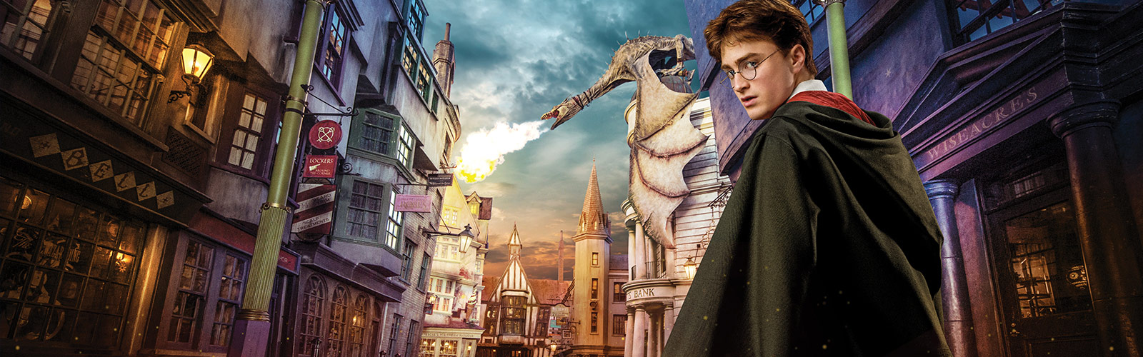 Harry Potter en Diagon Alley