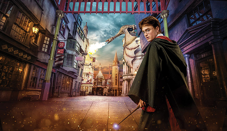 Harry Potter in Diagon Alley