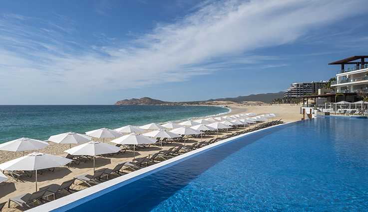 Beach along Le Blanc Spa Resort Los Cabos