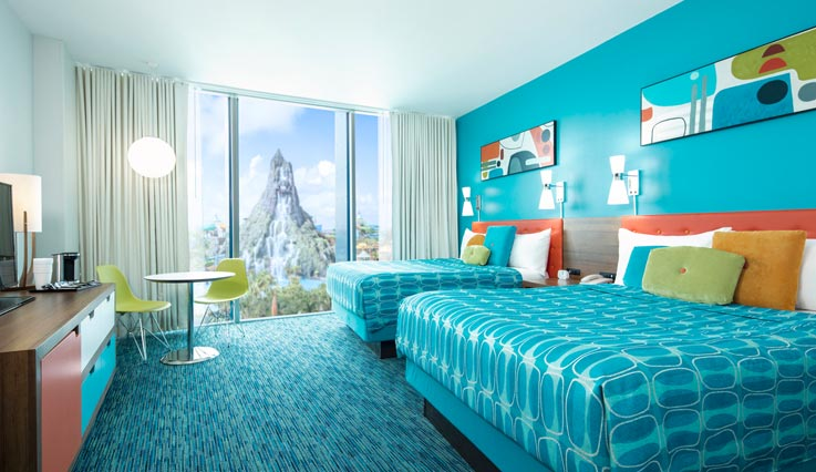 Volcano Bay View Standard Room