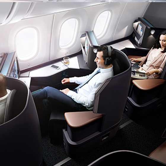 787 Business cabin