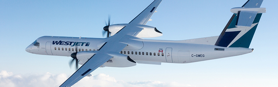 De Havilland Dash 8-400 (WestJet Encore)