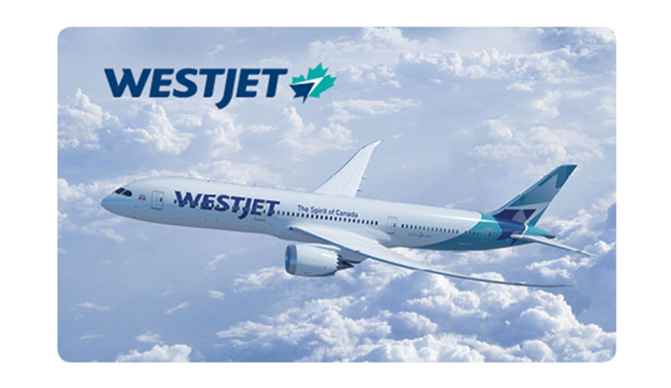 WestJet eGift card