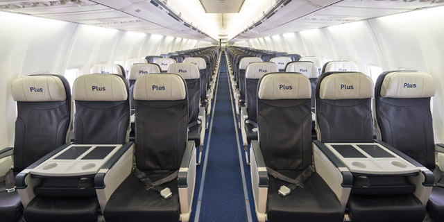 Plus fare 737 seats extra legroom space
