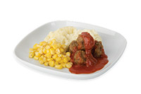 Kid's marinara meatballs