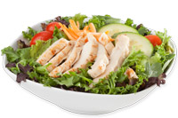 Garden Salad with Grilled Chicken