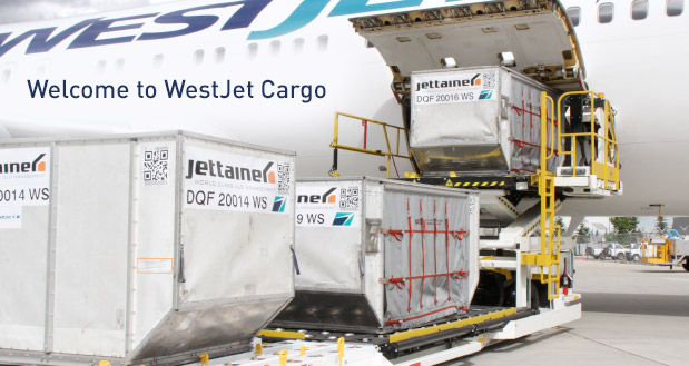 Welcome to WestJet Cargo