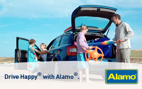 Drive Happy® with Alamo®.