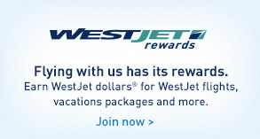 WestJet Rewards. Flying with us has its rewards. Earn WestJet dollars® for WestJet flights, vacation packages and more. Join now.