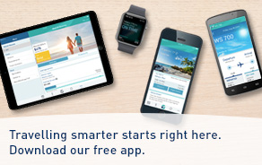 Travelling smarter starts right here. Download our free app.