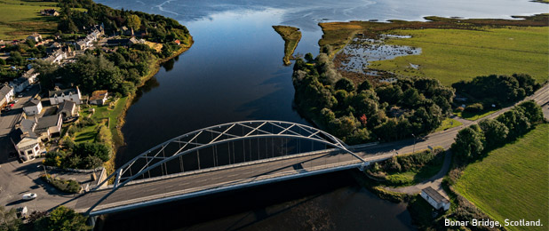 Bonar Bridge, Scotland.