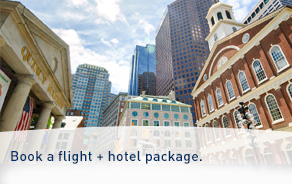 Book a flight + hotel package
