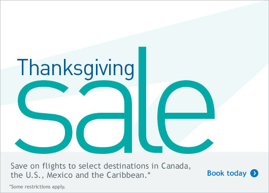 Book your WestJet flight.