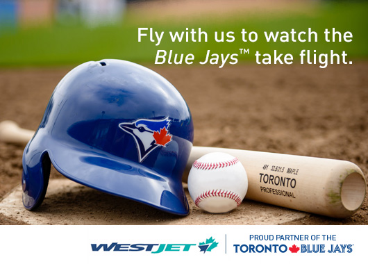 Fly with us to watch the Blue Jaysª take flight.