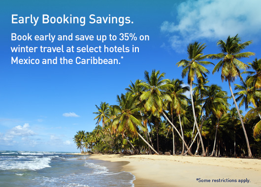 Early Booking Savings.